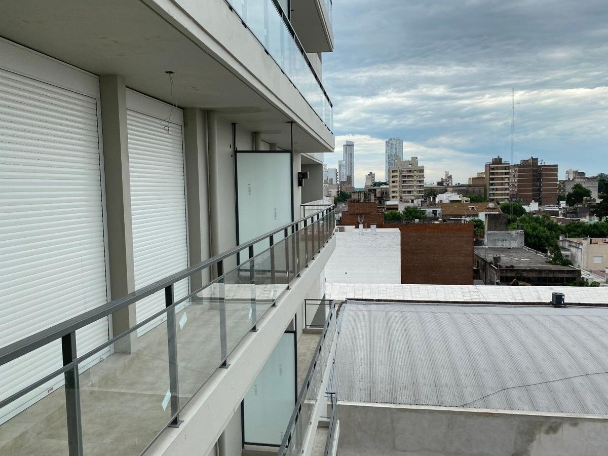 departamento 1 dormitorio con balcon corrido - luminoso - a estrenar