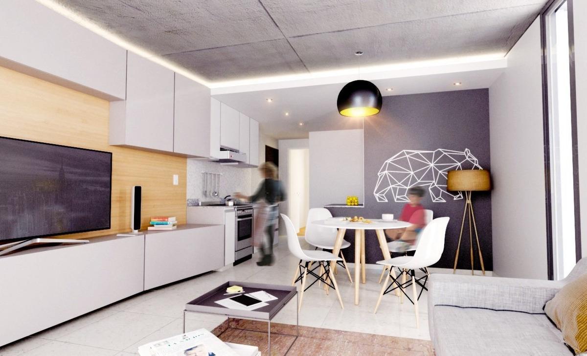 departamento 1 dormitorio con balcon - financiado - inversion a futuro
