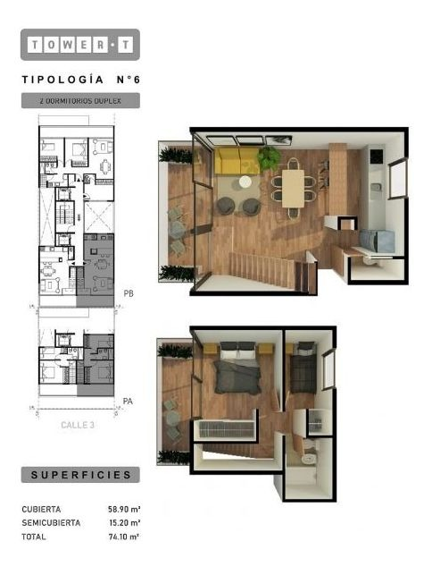 departamento 1 dormitorio con balcon. plan de pagos en pesos