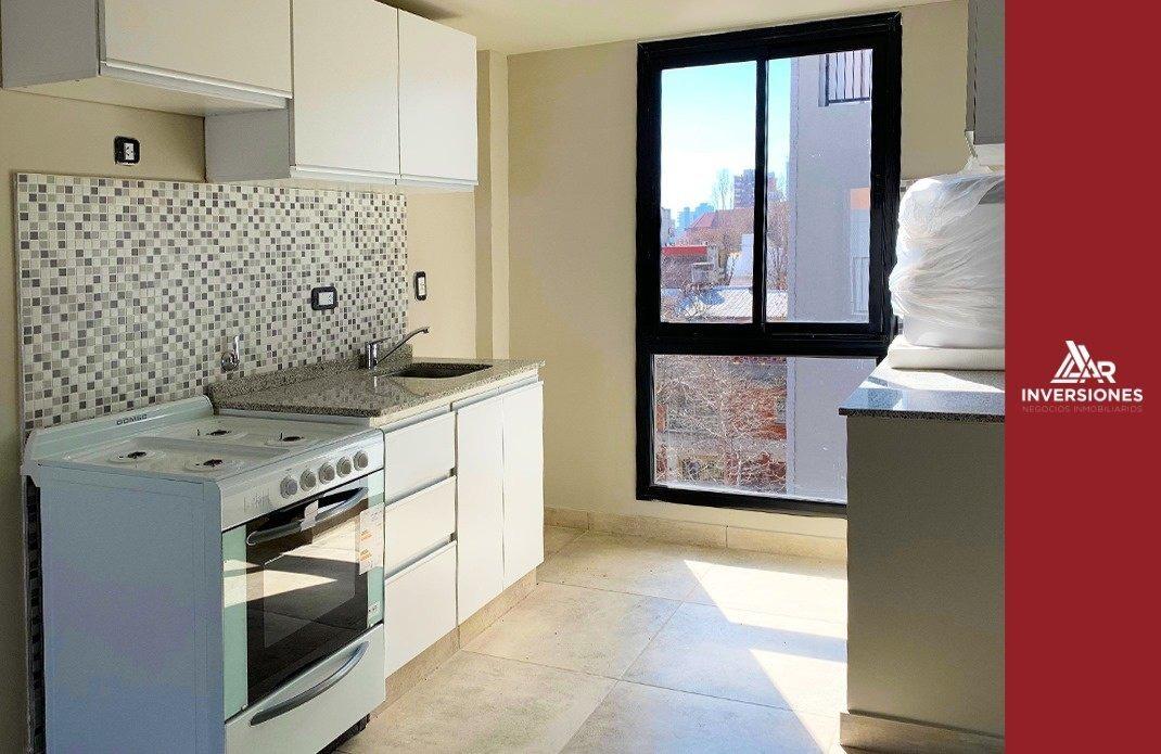 departamento 1 dormitorio con balcon - ventilacion cruzada / a estrenar - entrega inmediata