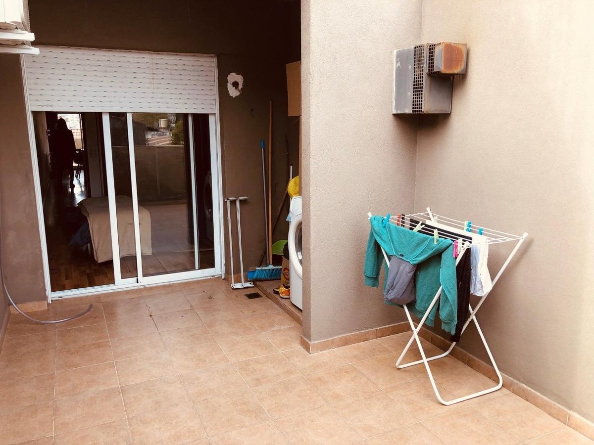 departamento 1 dormitorio con doble balcon - echesortu