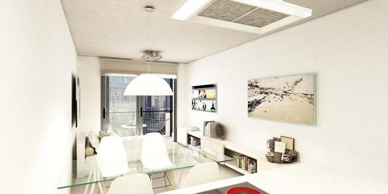 departamento 1 dormitorio con terraza exclusiva. cafferata 1545. amenities. coworking