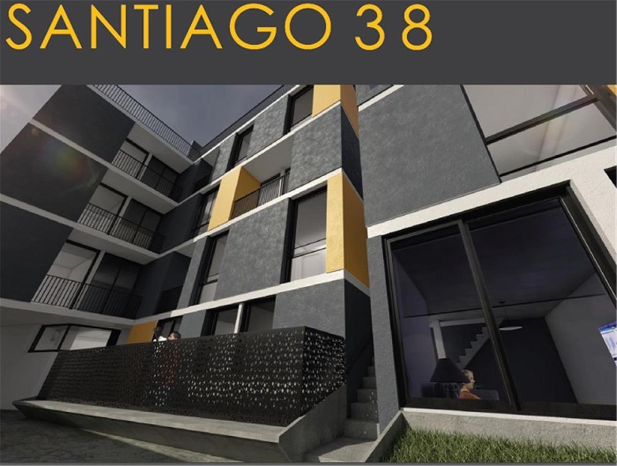 departamento 1  dormitorio duplex - santiago 38
