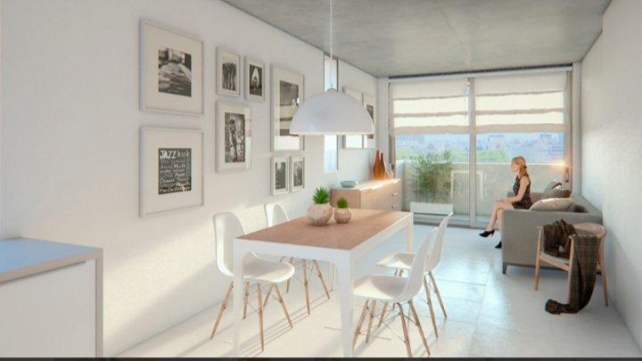 departamento 1 dormitorio en pichincha - cercano a facultades y paseo gastronomico - amenities - financiacion