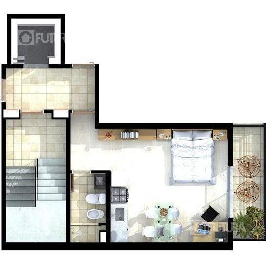 departamento 1 dormitorio en venta  - rosario centro - zona rio y parque españa