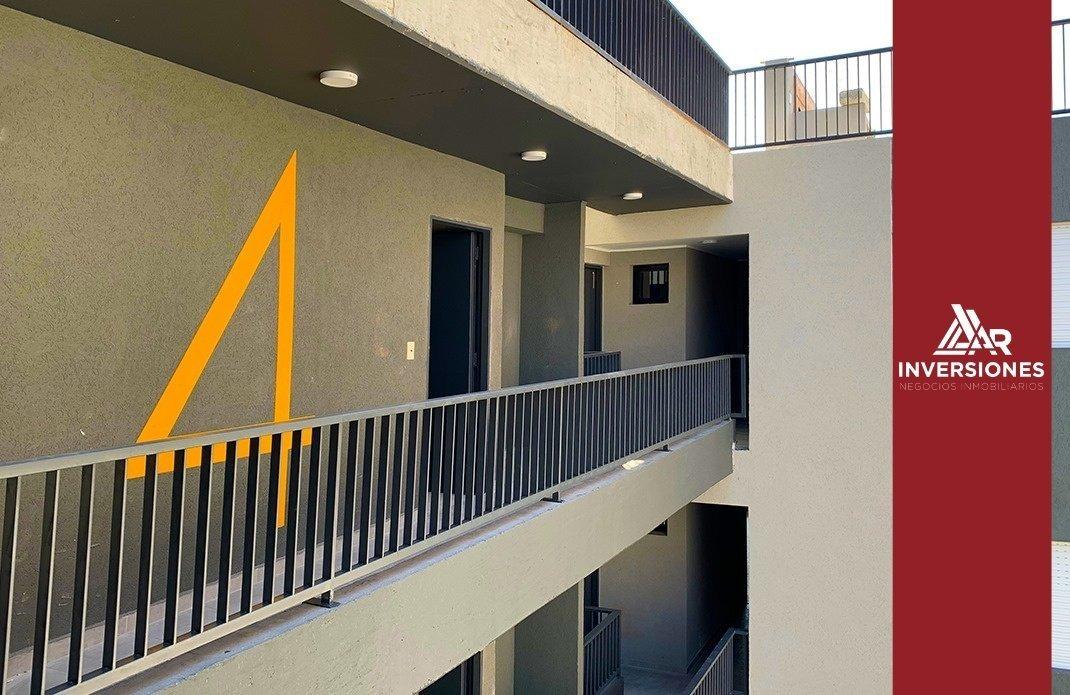 departamento 1 dormitorio en zana facultades - balcon y terraza exclusiva con parrillero - a estrenar