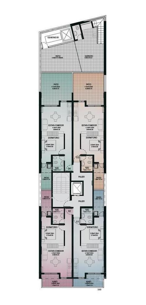 departamento 1 dormitorio - zona macrocentro