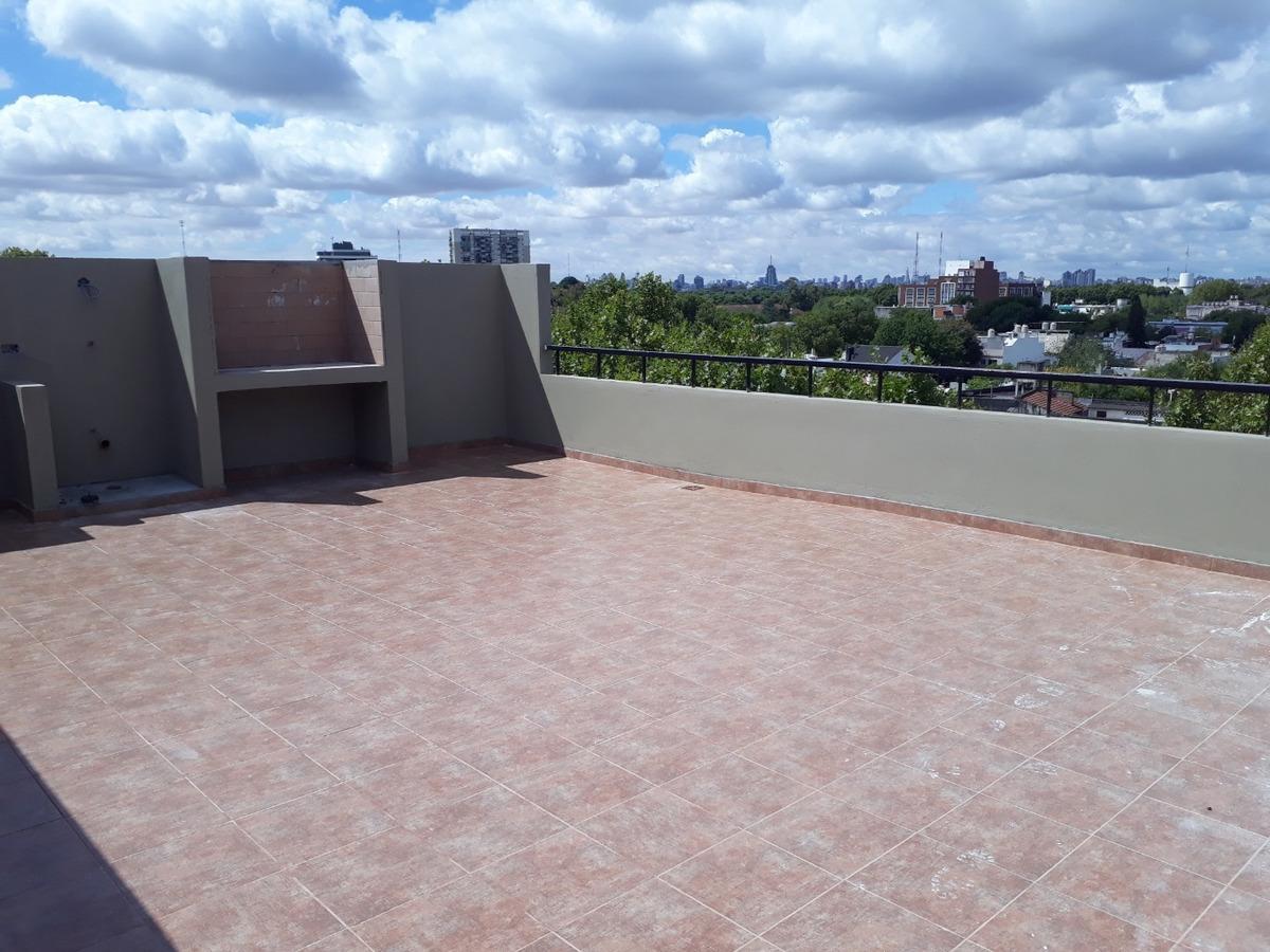 departamento 2 amb 99m2 totales, terraza propia c/parrilla en const. julio 2020