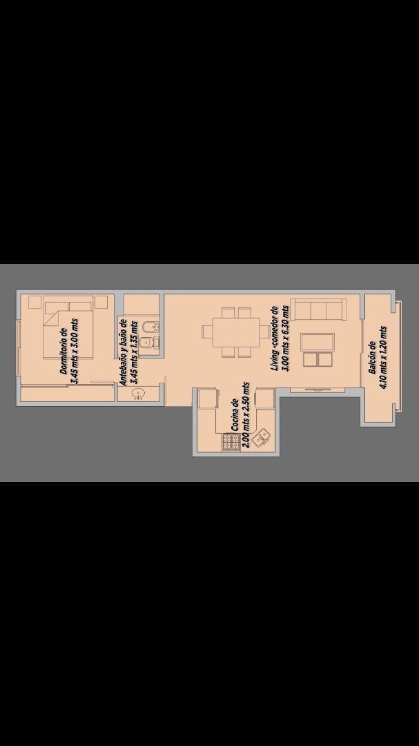 departamento 2 amb.  a estrenar en ezeiza-edificio stylo ii