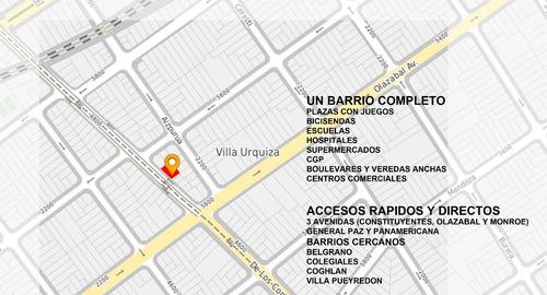 departamento 2 amb al frente venta en pozo villa urquiza 103