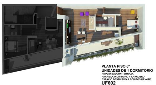 departamento 2 amb al frente venta en pozo villa urquiza602