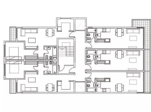 departamento 2 amb casuarinas centro