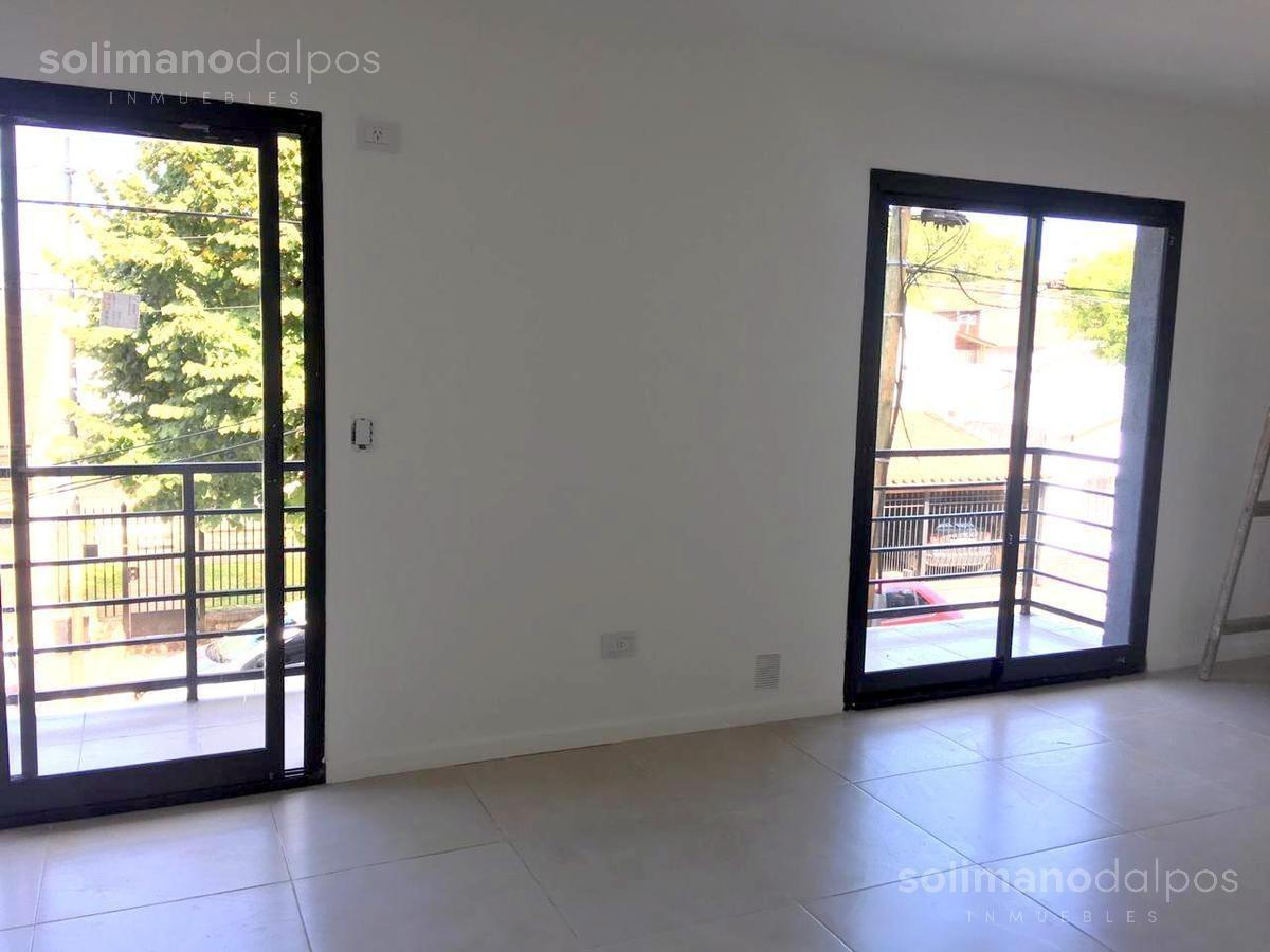 departamento 2 amb con balcón - san fernando
