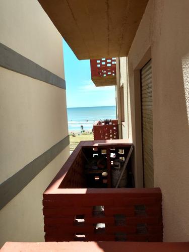 departamento 2 amb frente al mar con vista al mar