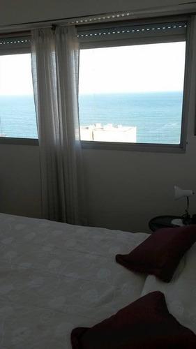 departamento 2 amb reciclado con balcón y vista plena al mar