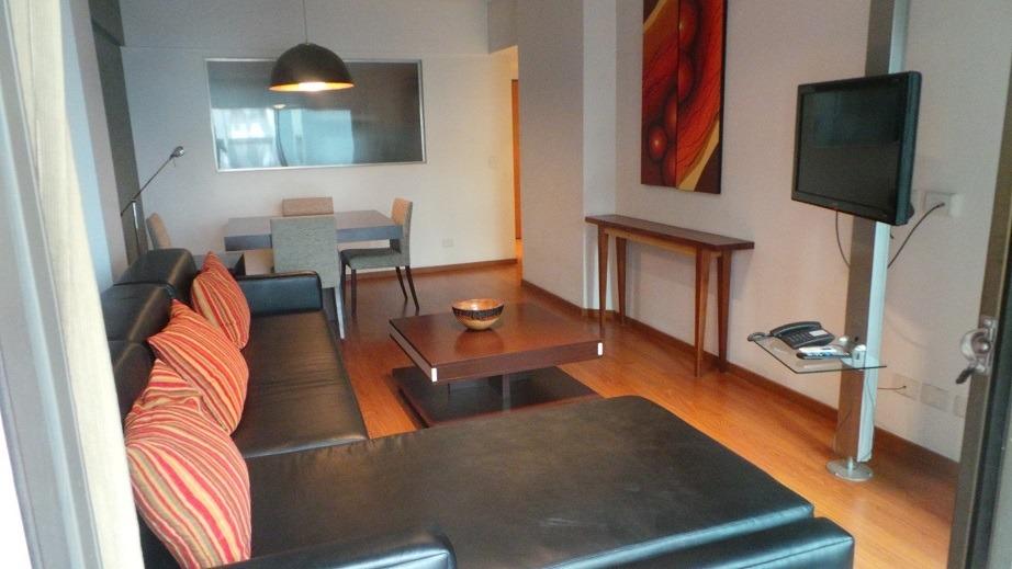 departamento 2 ambientes 48 m2 cub + balcon amoblad recoleta