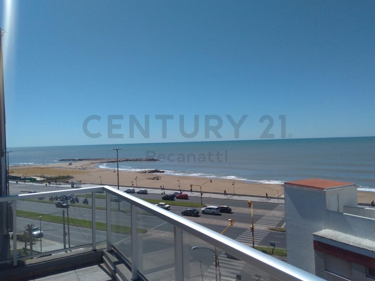 departamento 2 ambientes a estrenar vista al mar perla norte mar del plata