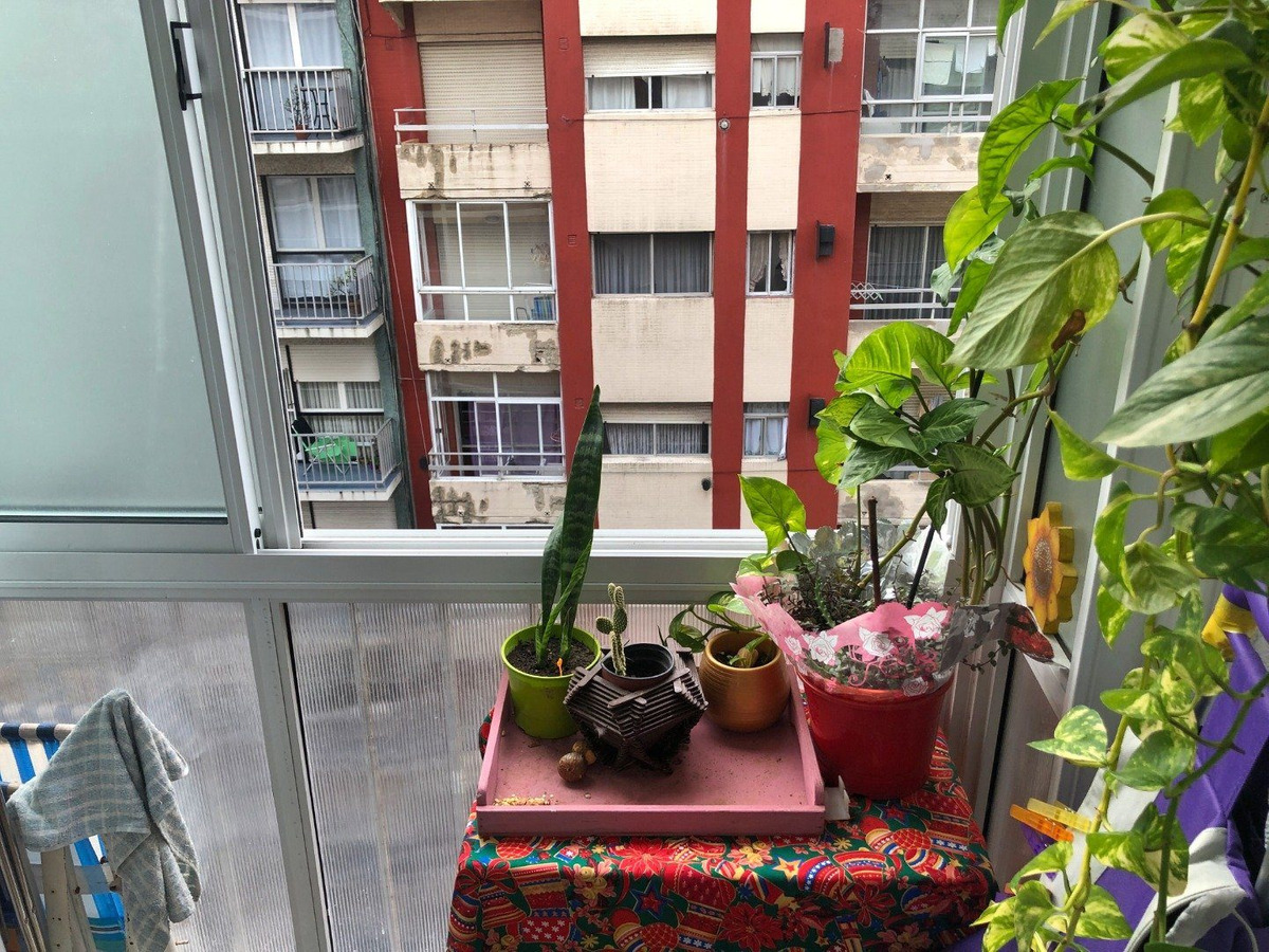 departamento 2 ambientes a la calle