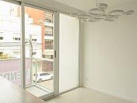 departamento 2 ambientes al frente con balcon y cochera a estrenar