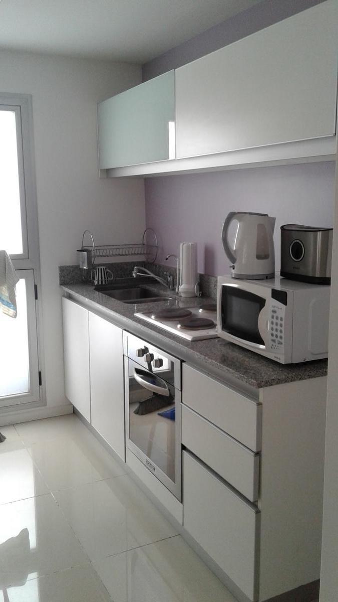departamento 2 ambientes amoblado - edificio con amenities - palermo