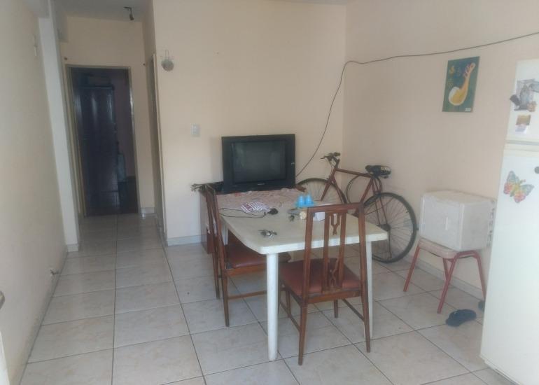 departamento 2 ambientes, balcon, terraza, san justo