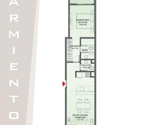 departamento 2 ambientes centrico en pozo // ramos mejia // pozo