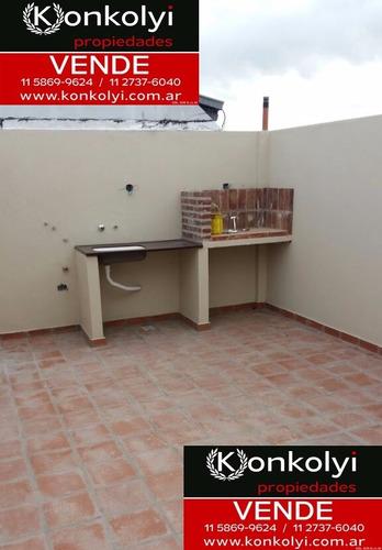 departamento 2 ambientes con balcon