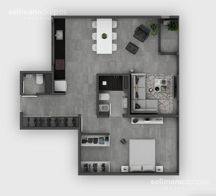 departamento 2 ambientes con balcón - belgrano