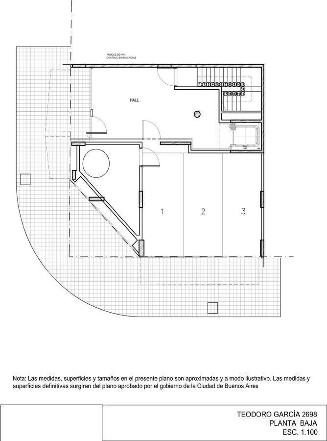 departamento 2 ambientes con baño en suite y toilette en belgrano