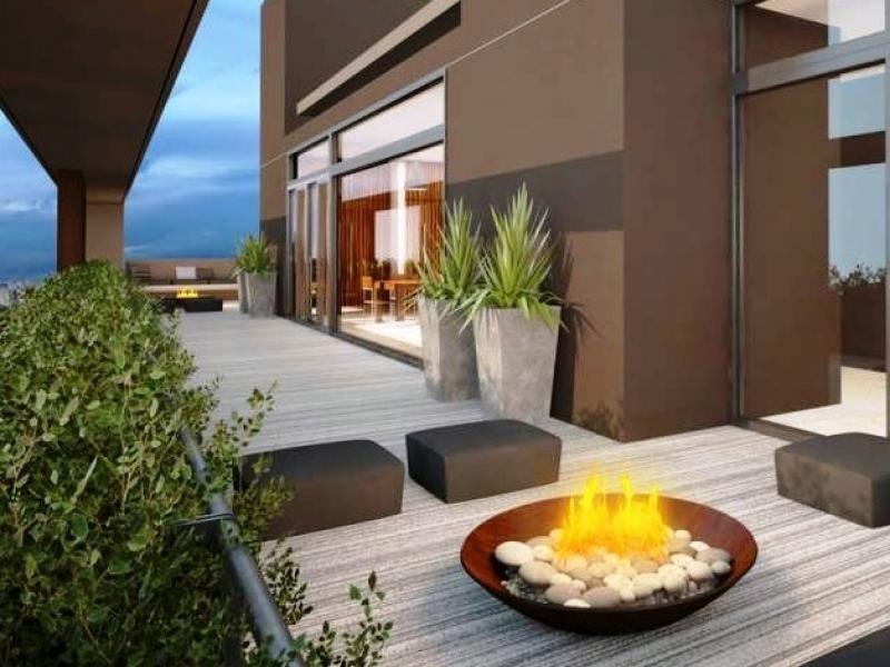 departamento 2 ambientes con cochera. quincho y amenities. zona guemes.