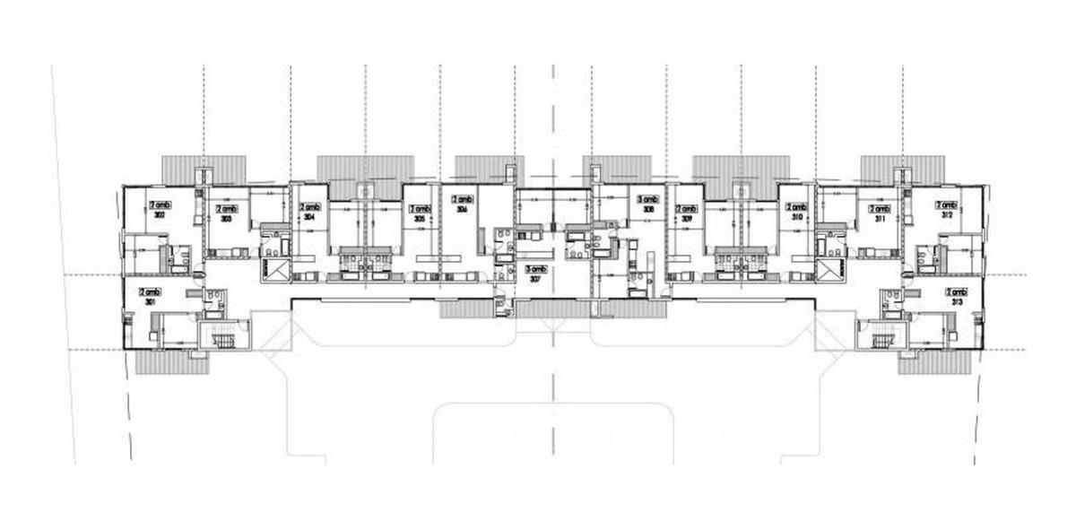 departamento 2 ambientes con obra retomada. amenities