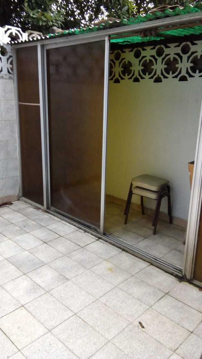 departamento 2 ambientes con patio sin expensas