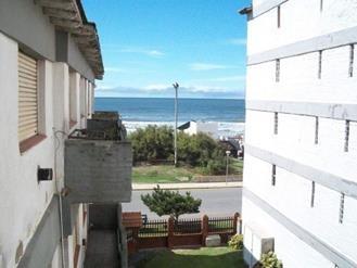 departamento 2 ambientes con vista al mar