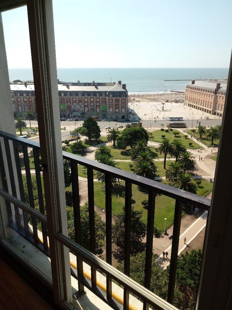 departamento 2 ambientes con vista al mar en venta mar del plata
