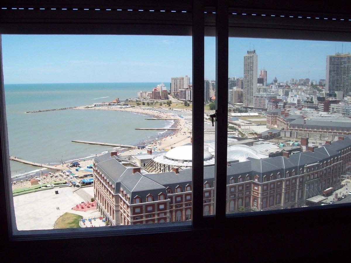 departamento 2 ambientes con vista al mar temporada mar del plata