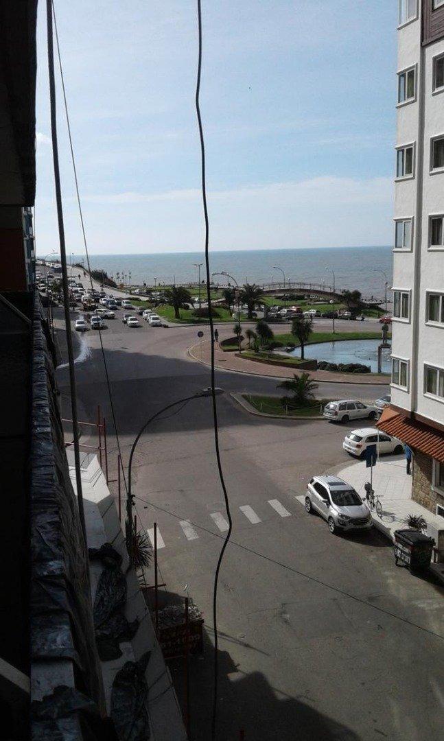 departamento 2 ambientes con vista al mar y cochera
