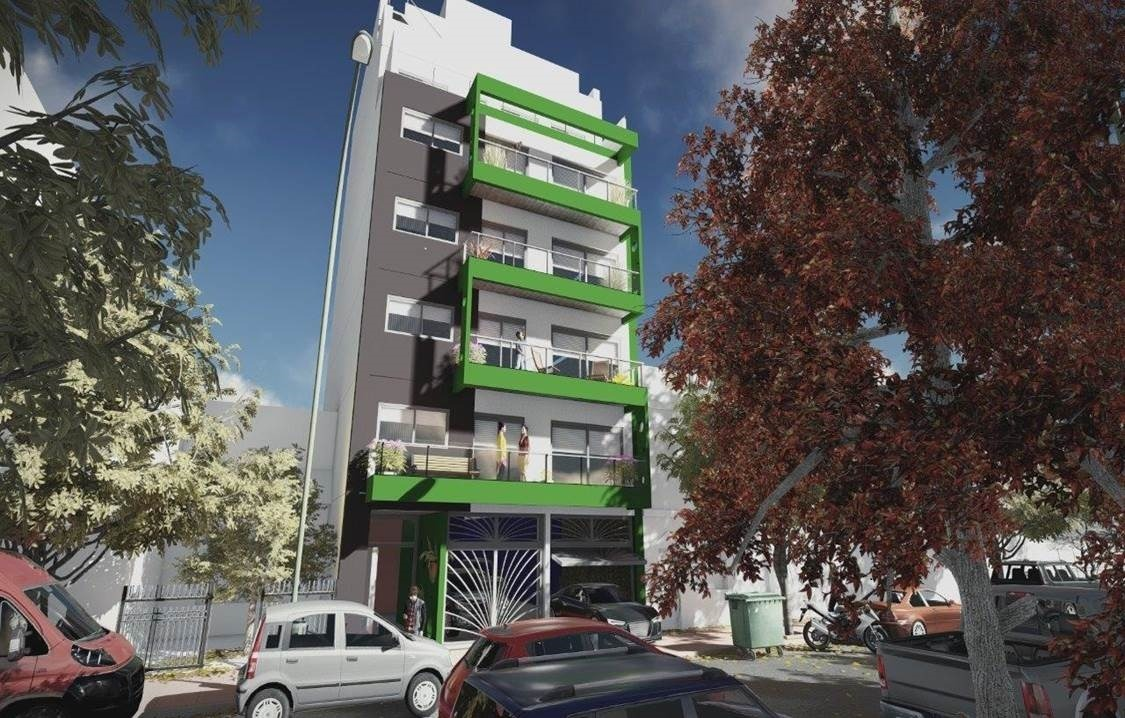 departamento 2 ambientes contrafrente con balcon