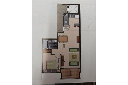 departamento 2 ambientes de 44 m2 a estrenar