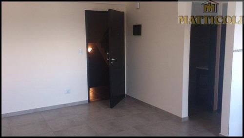departamento 2 ambientes de 48 m2 totales a estrenar en san martin centro