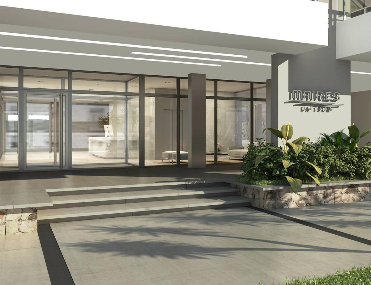 departamento 2 ambientes. edificio maires la isla. zona torreon.