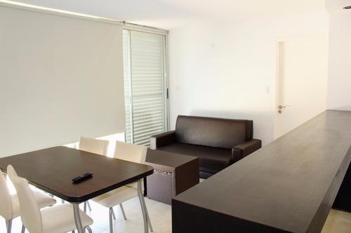 departamento 2 ambientes, en alquiler, vista al mar