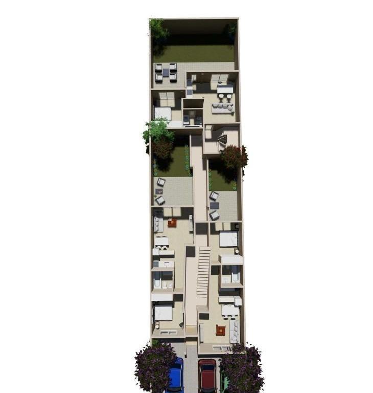 departamento 2 ambientes, en pozo