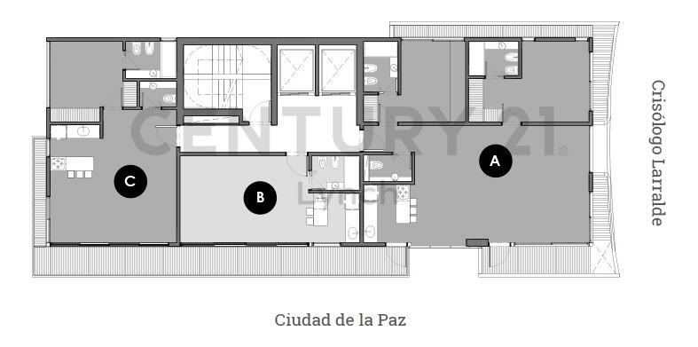 departamento 2 ambientes en venta en crisologo larralde 2491- financiación 50%