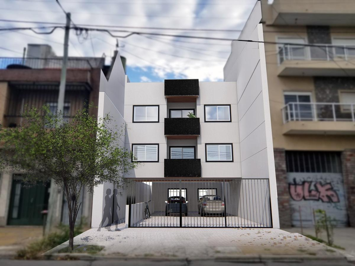 departamento 2 ambientes en venta, patio privado - ramos mejia