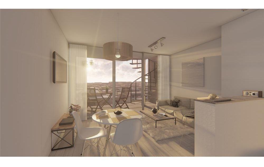 departamento 2 ambientes + exclusiva terraza