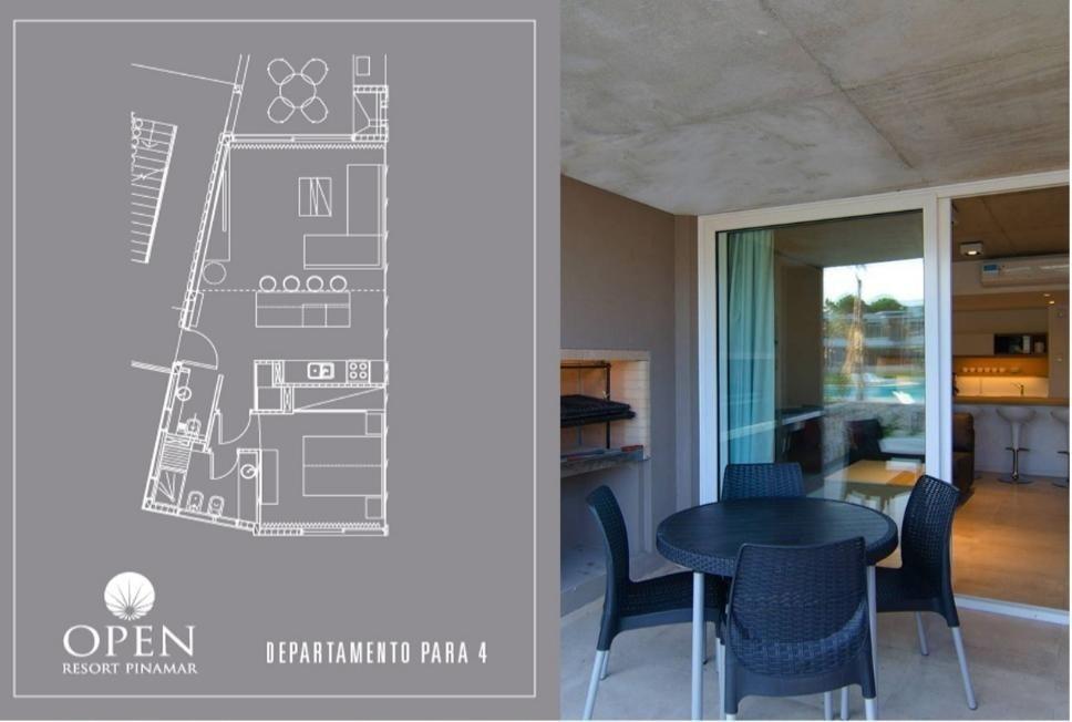 departamento 2 ambientes open resort pinamar