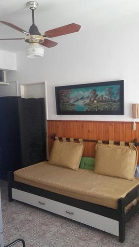 departamento 2 ambientes pleno centro 50 metros del mar!!