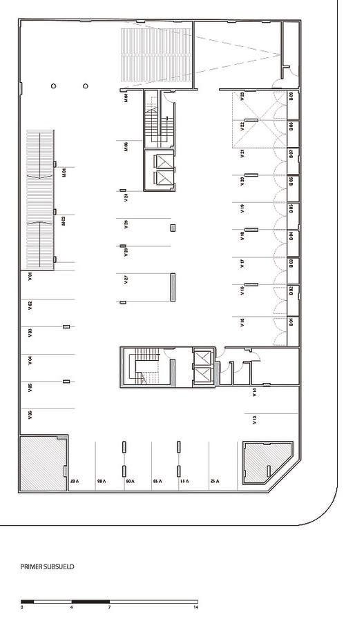 departamento 2 ambientes . san martin. cochera opcional. piso 7ºc