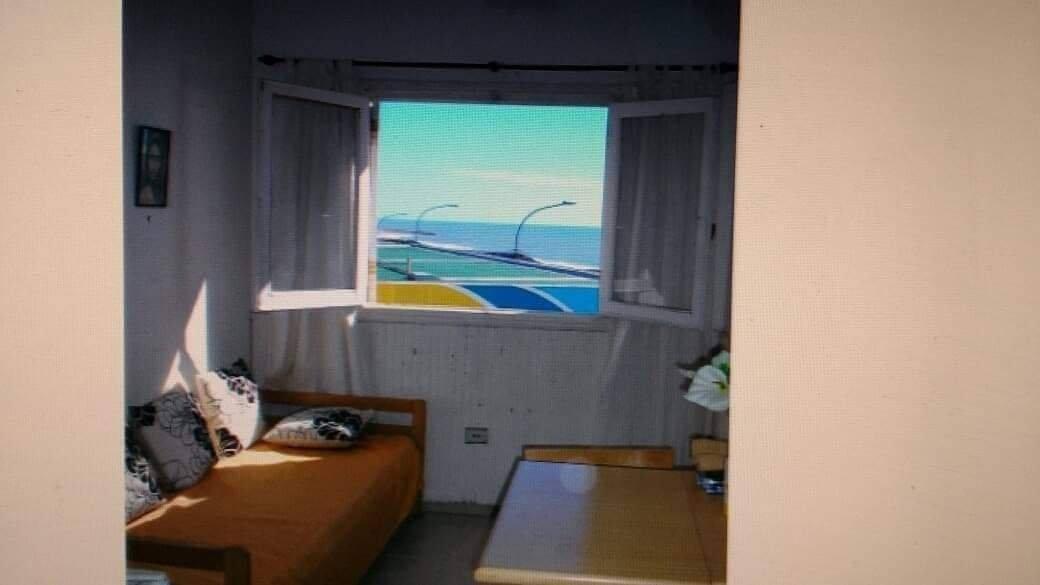 departamento 2 ambientes vista al mar