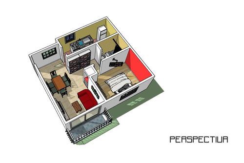 departamento 2 ambientes wilde centro